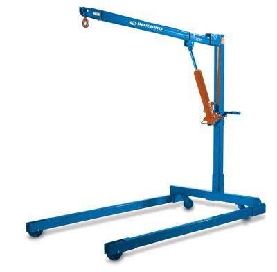 rental equipment engine hoist hydraulic dolly breakdown clairemont equipment