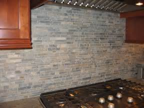 Stacked Stone Kitchen Backsplash Project Showcase