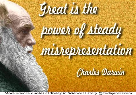 Scientist Claims He Was Misrepresented In The Great Global Warming Swindle by Charles Darwin Quotes 294 Science Quotes Dictionary Of