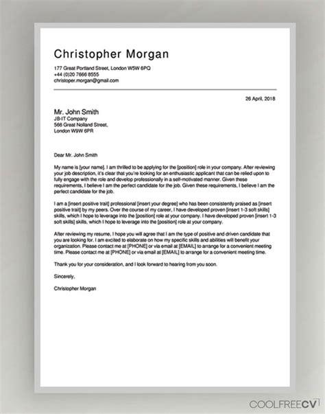 cover letter maker creator template samples