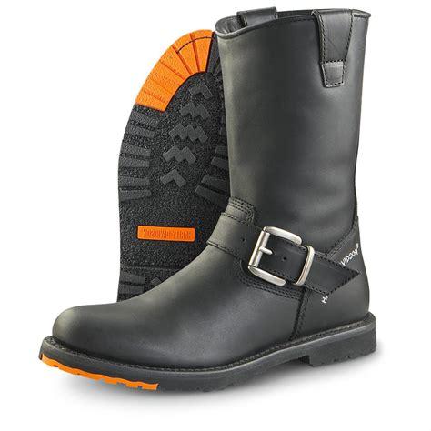 mens biker boots sale men s harley davidson 174 hombre engineer boots black