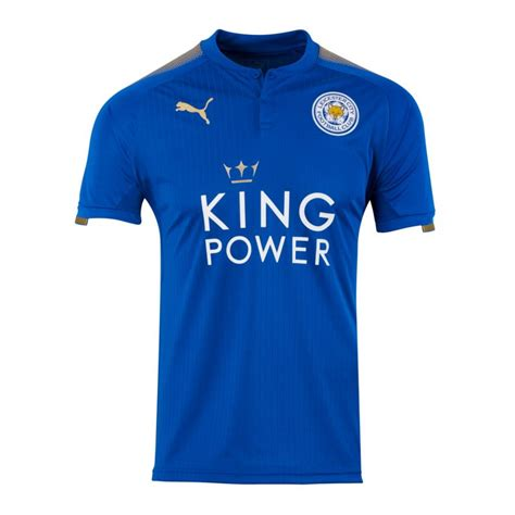 Jersey Multi Sport Leicester Home leicester city trikot home 17 18 f01 jersey home premier league football