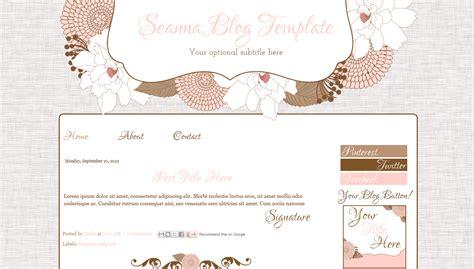 layout blog cute cute pink modern blog template juliana bd web studio