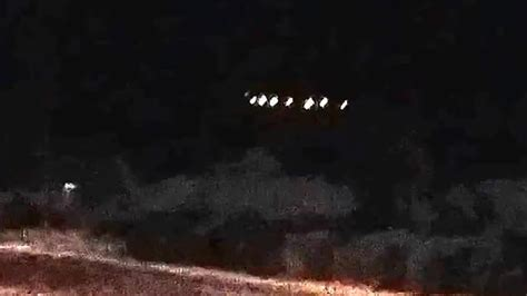 Massive Ufo Sighting Shocking Video Mothership Lights Lights In Arizona