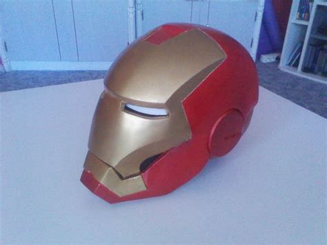 How To Make Iron Helmet With Paper - how to make a lifesize wearable iron helmet