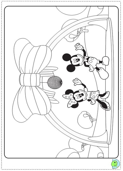 mickey mouse clubhouse coloring pages az coloring pages