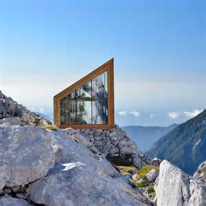 S Shelter Ofis Constructs Alpine Shelter For Climbers Of Skuta Mountain