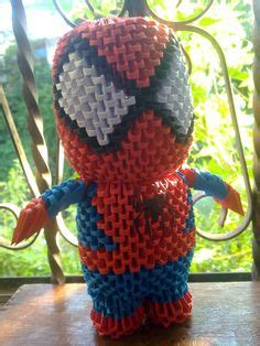 3d origami spider man tutorial 1000 images about origami 3d spiderman on pinterest