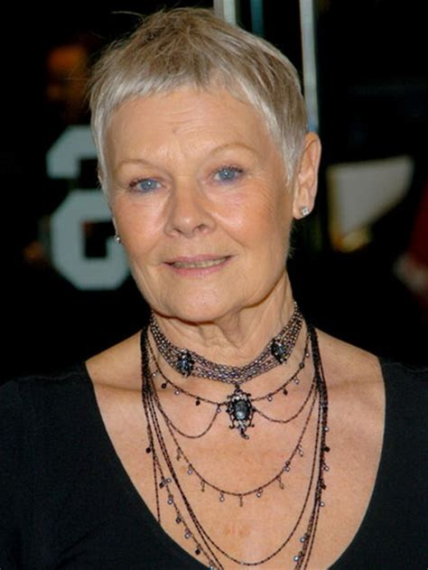 how to cut judi dench haircut judi dench hairstyle