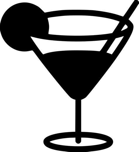 margarita glass svg martini glass svg png icon free 443373