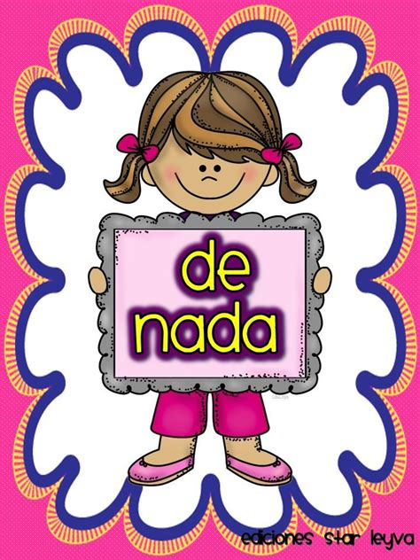 imagenes de palabras magicas para colorear palabras m 225 gicas 6 imagenes educativas