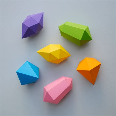 Origami Gem - cool things to make with paper