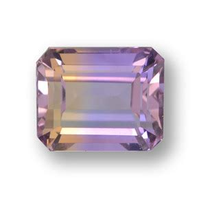 Ametrine 6 60ct 2 6 carat octagon emerald cut 8 1x6 5 mm and