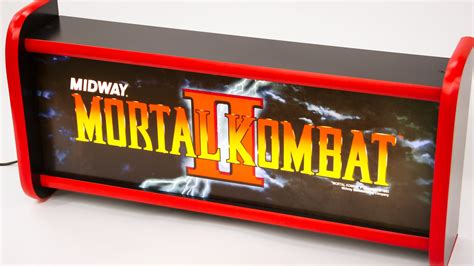 Marquee Light Box by Build An Arcade Marquee Lightbox Godening