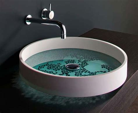 designer sinks bathroom modern wash basin designs aesthetic nice surface painting