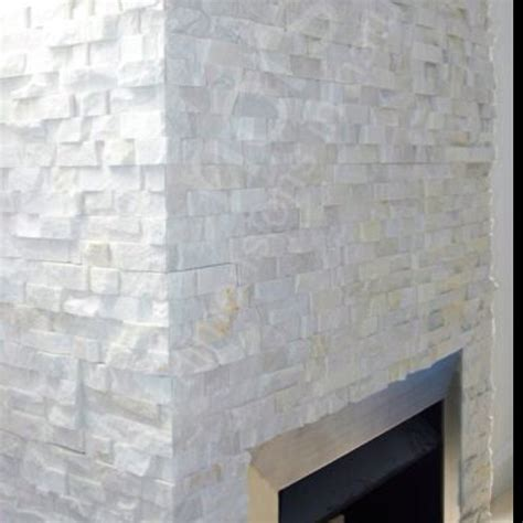 White Stacked Fireplace by Best 25 White Fireplaces Ideas On White