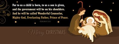 nativity christian facebook cover banner