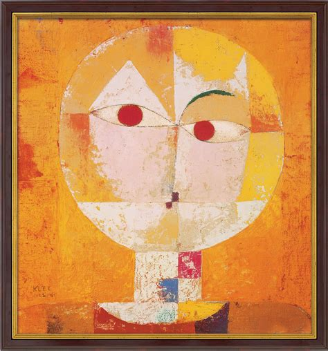 Home Interior Pictures For Sale by Paul Klee Senecio Painting For Sale