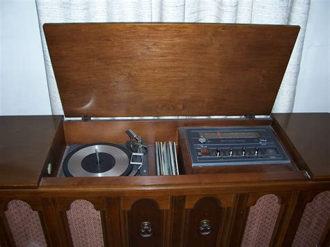 Audio Console classic stereo phonograph console needs a home hillbilly