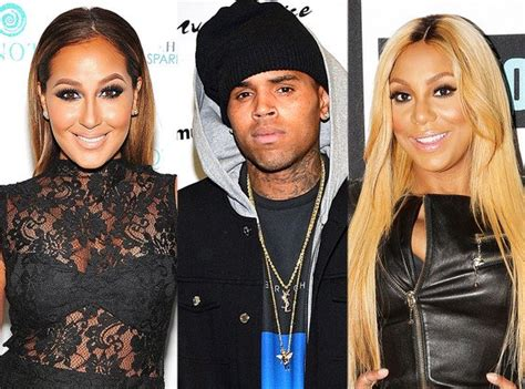 chris brown adrienne bailon feud fans freak out on when it gets real chris brown and tamar braxton go
