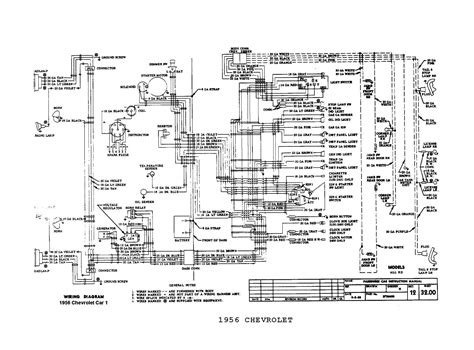 1956 chevy wiring diagram chevrolet convertible 1955 1956 and 1957 wiring diagrams chevrolet get free image about wiring