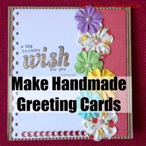 how to make handmade greeting cards diy home things