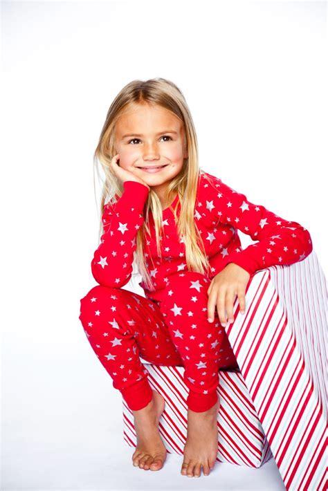 silverstar models red silver stars long sleeves pajamas holiday long sleeves