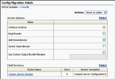 user configuration administrative templates panel display a 4 system migration interface