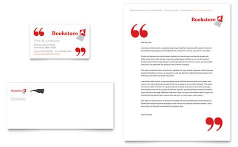 library business card template bookstore library newsletter template design