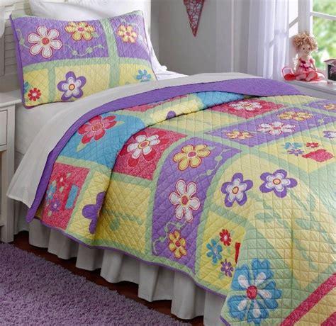 girl quilt bedding helena twin single quilt set teen girls sweet purple