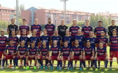 Calendario F C Barcelona 2015 Primera Foto Oficial Fc Barcelona 2015 2016