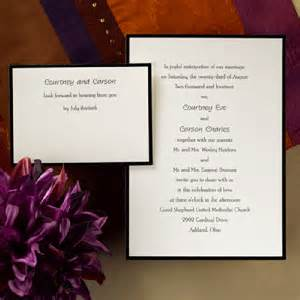 formal wedding invitations 17000 formal wedding announcements myideasbedroom