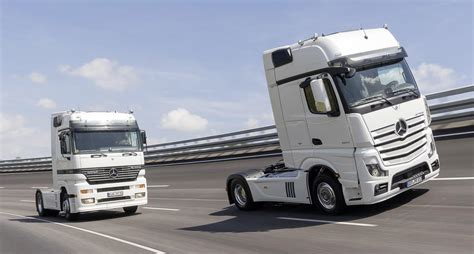 Garage For Rv The Actros Turns 20 Mercedes Benz