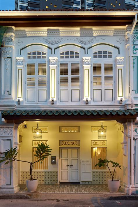 shop house design peranakan shophouse transformed by ong ong into a modern contemporary abode