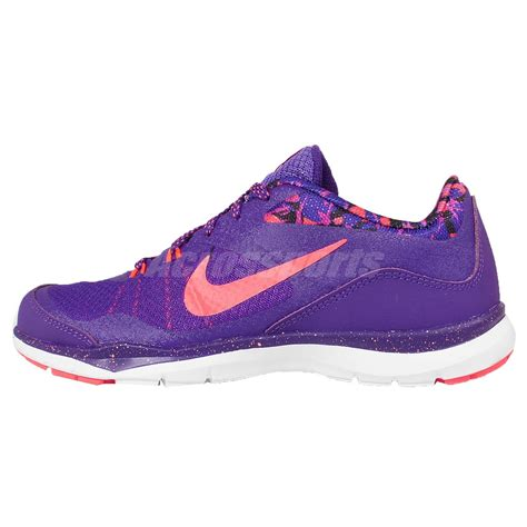 Original Nike Womens Flex Trainer 7 Print 898481 001 wmns nike flex trainer 5 print v purple womens cross