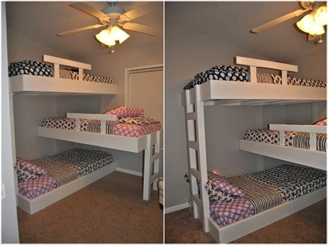 diy bunk bed build your own bunk beds diy custom house woodworking