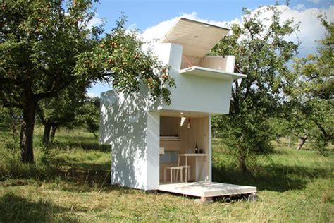 Minimalist Modern cabane jardin bois