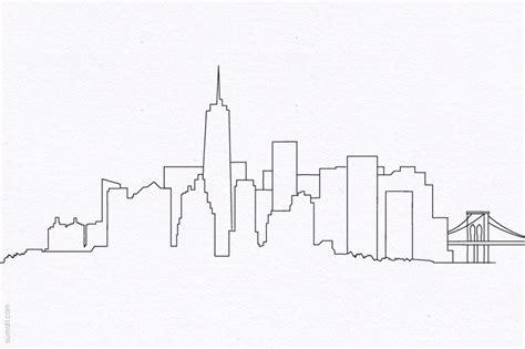 new york drawings 0571326919 new york city skyline manhattan brooklyn bridge wtc freedom tower line drawing design