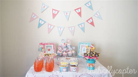 Hollycopter Giveaway - rilakkuma birthday party
