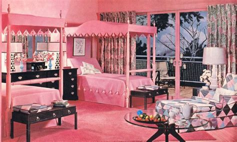 1950s Style Bedroom by 1950s Pink Bedroom Design Vintage Style