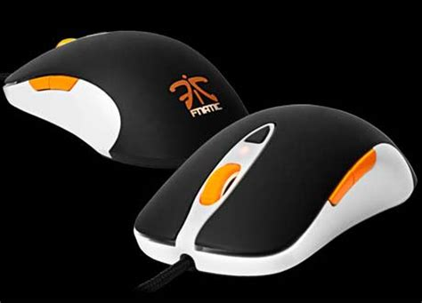Mouse Steelseries Sensei Fnatic limited edition steelseries 7h fnatic headset sensei fnatic mouse outed techgadgets