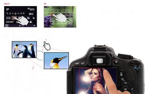 Kamera Dslr Canon Touchscreen canon 650d peningkatan yang cukup berarti 206 241 f 245 rm 226 t 238 248 241