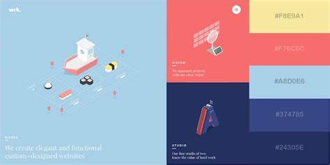 color combinations for website 29 beautiful color schemes from award winning websites