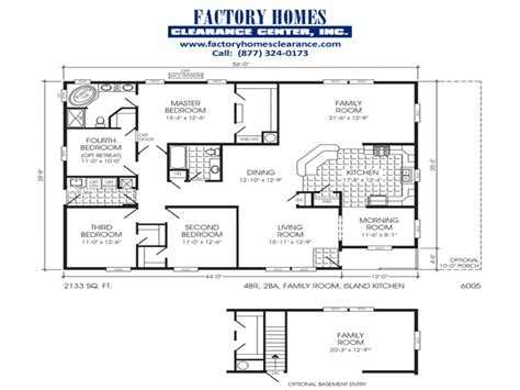 triple wide manufactured home floor plans clayton triple wide mobile homes triple wide mobile home