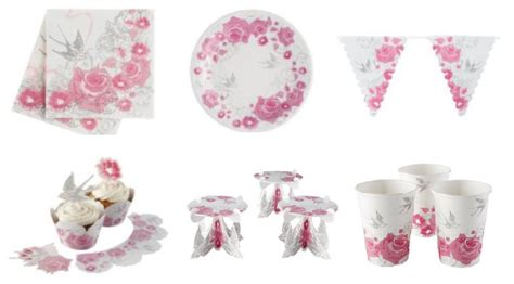 shabby chic tableware shabby chic baby shower theme ideas baby shower ideas