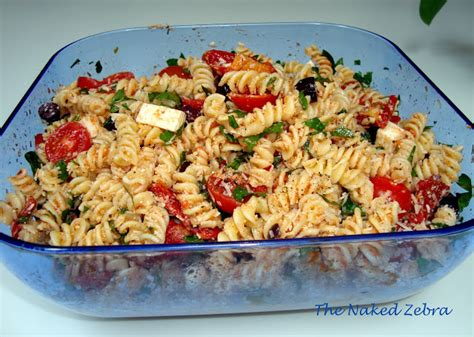 ina garten pasta recipes the naked zebra tomato feta pasta salad ina garten