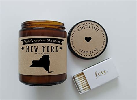 new york homesick candle new york scented candle missing home homesick gift moving