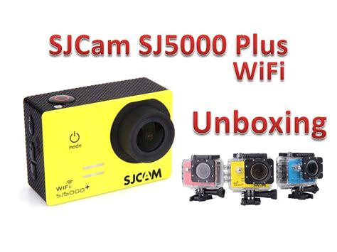 Sjcam Sj5000 Plus Ambarella sjcam sj5000 plus wifi ambarella unboxing 1080p 60fps
