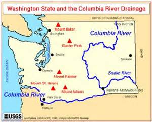 columbia river canada map week at lost lake