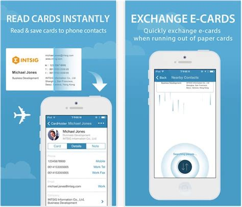 Visitenkarten App by The Best Business Card Scanner Apps For Iphone